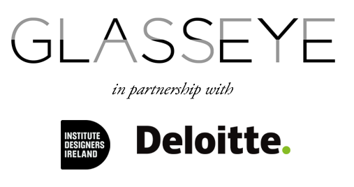 Glasseye logo, IDI Logo and Deloitte logo